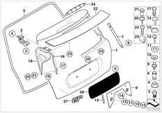 Parts For MINI R53/Coupe/Cooper S/ECE/Audio, Navigation, Electronic Systems/Ipod Connection Retrofit KitAttachments Tailgate_6