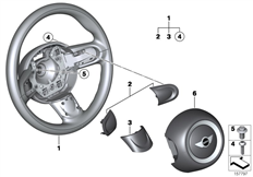Parts For MINI R53/Coupe/Cooper S/ECE/Audio, Navigation, Electronic Systems/Ipod Connection Retrofit KitAirbag Sports Steering Wheel_1