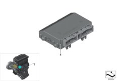 Parts For MINI R50/Coupe/Cooper/USA/Vehicle Electrical System/Ews Control Unit/tr Module/supportAir Conditioner Control Unit_1