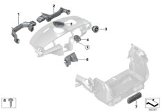 Parts For MINI R53/Coupe/Cooper S/ECE/Audio, Navigation, Electronic Systems/Ipod Connection Retrofit KitAir Duct_2