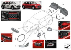 Parts For MINI R50/Coupe/Cooper/USA/Vehicle Electrical System/Ews Control Unit/tr Module/supportAccessories And Retrofittings_1