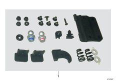 Parts For MINI R50/Coupe/Cooper/USA/Vehicle Electrical System/Ews Control Unit/tr Module/support7346025 - Mounting Kit Top_1