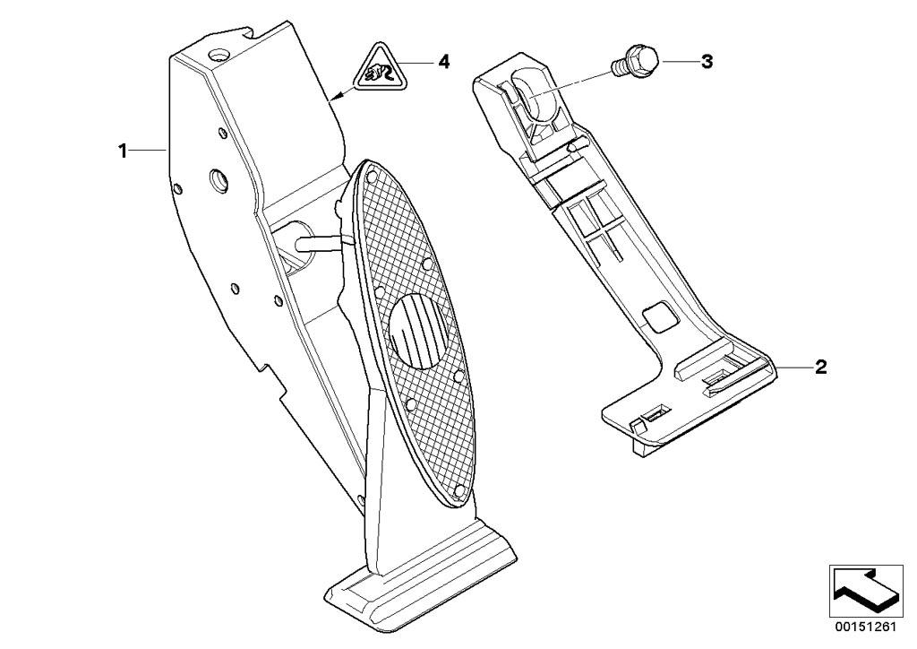 mini r53  coupe  cooper s  ece  pedals  acceleration