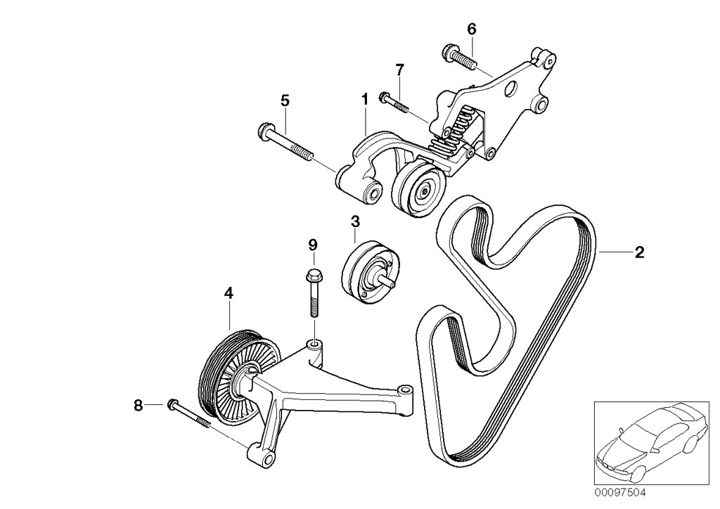 Mini R53  Coupe  Cooper S  Usa  Engine  Vacuum Control Engine