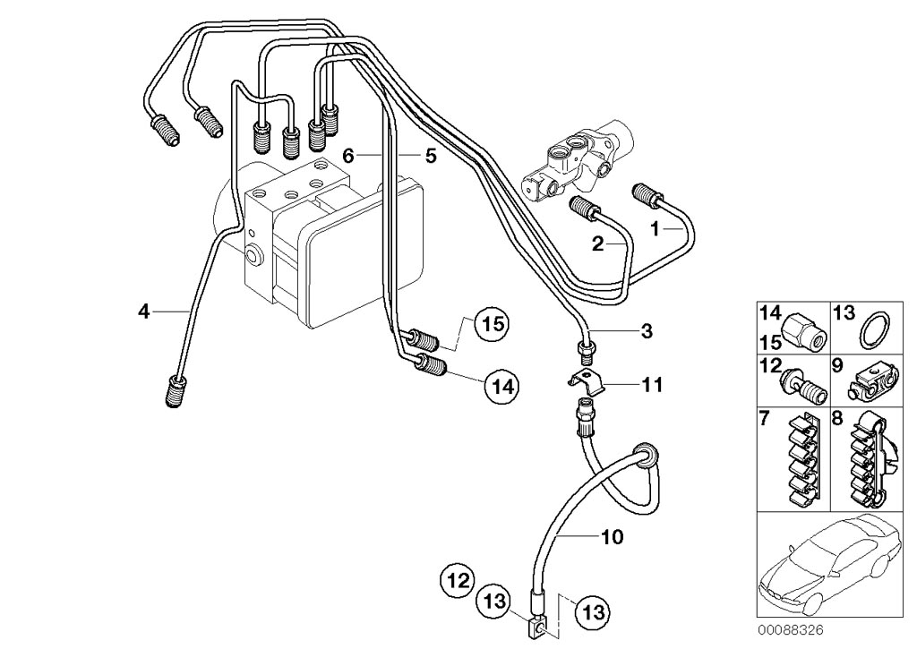 mini cooper seat wiring diagram mini r53/coupe/cooper s/usa/brakes/abs hydro unit/control ...