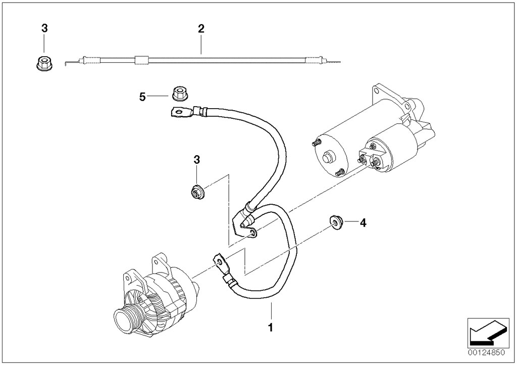 Bmw E36 Starter Motor Wiring Diagram : E m engine swap diagram and wiring