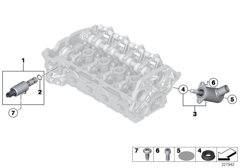 mini r56 lci coupe cooper s ece engine lubricat syst filter heat exchanger estore central