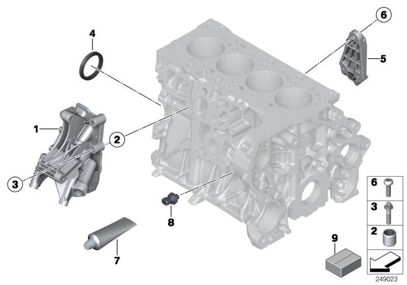 Parts For MINI R56 LCI/Coupe/Cooper SD/ECE/Engine/Timing ...