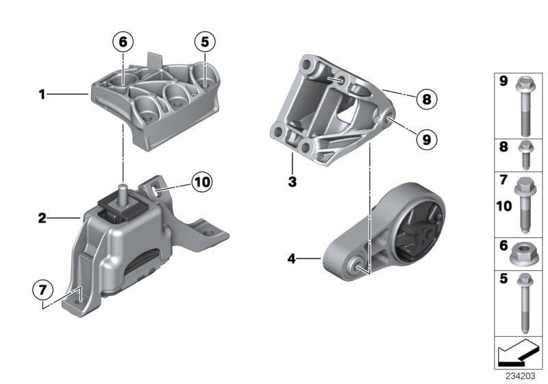 Mini R55 Lci  Clubman  Cooper Sd  Ece  Engine And Transmission