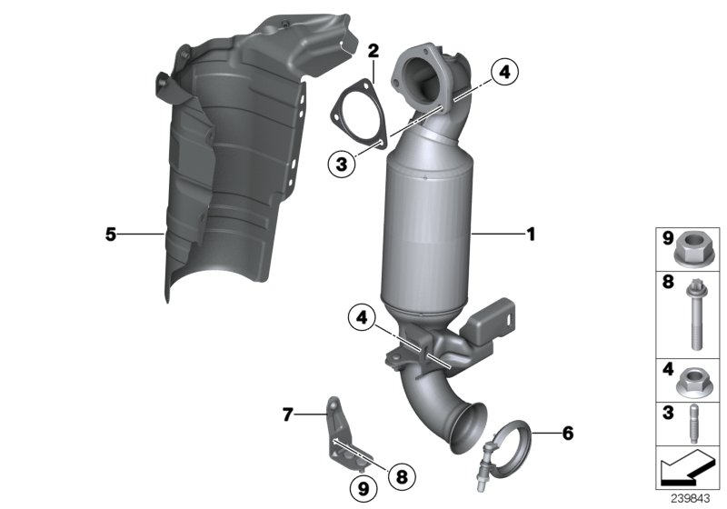 Mini R60  Countryman  Cooper S  Ece  Exhaust System