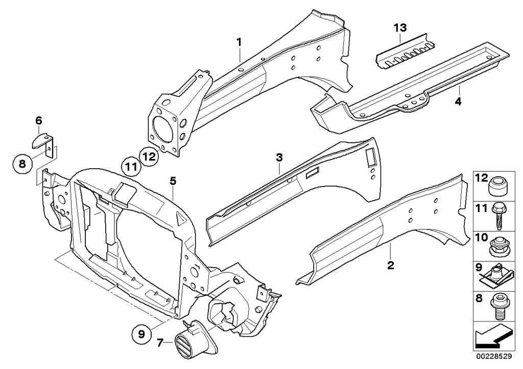 04 mini cooper suspension diagram
