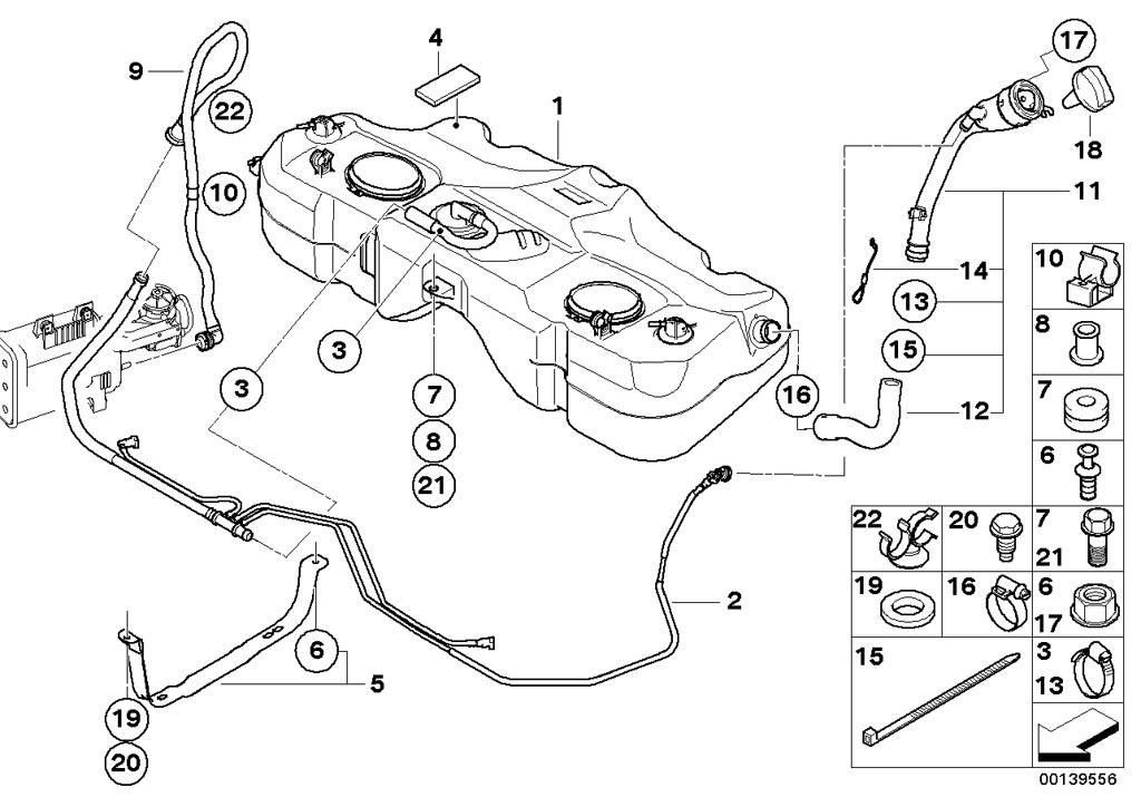 Mini Fuel Tank Fuel Tank/mounting Parts