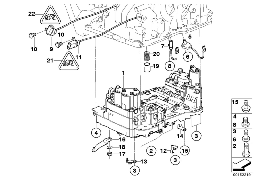 Mini Cooper S Transmission Control Module Diagram