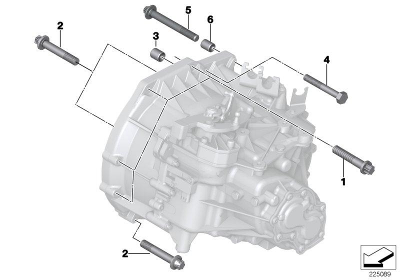 Mini R60  Countryman  One  Ece  Manual Transmission
