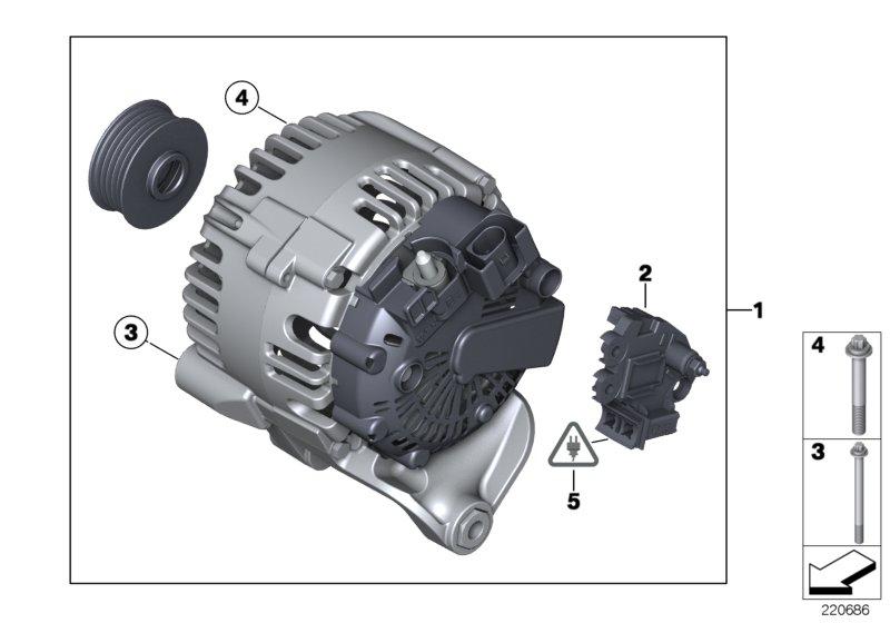 Parts For Mini R60  Countryman  Cooper Sd  Ece  Engine