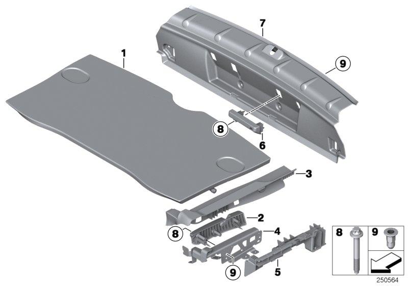 Parts For Mini R60 Countryman Cooper S Ece Vehicle Trim