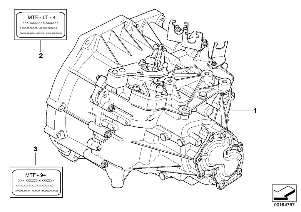 mini r55  clubman  cooper d  ece  manual transmission