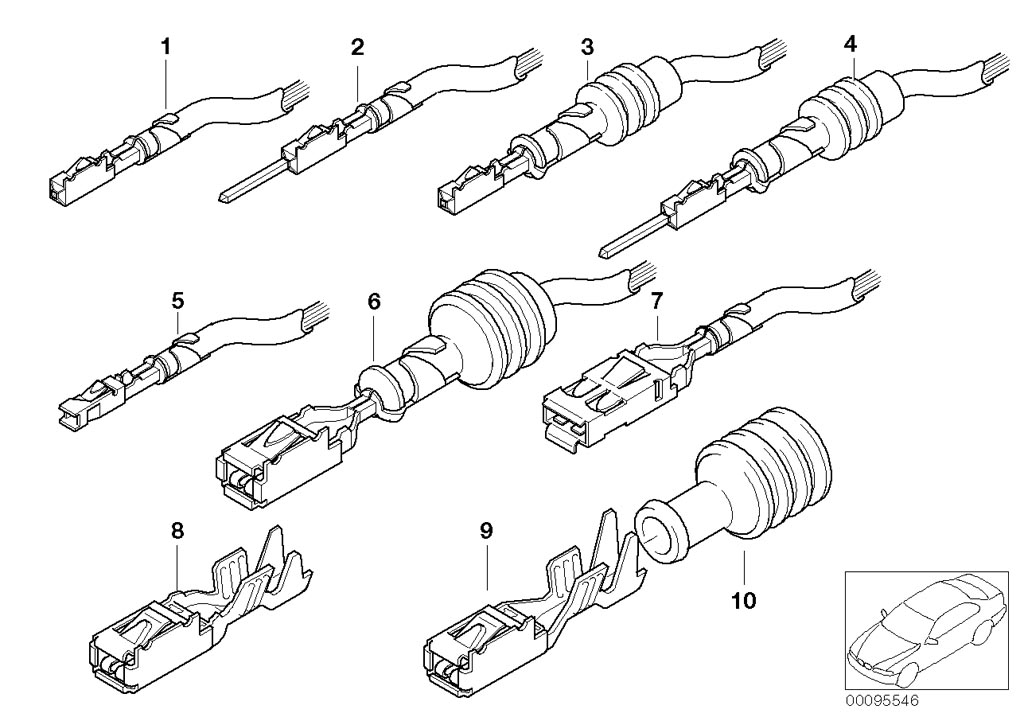 Parts For MINI R50/Coupe/Cooper/USA/Vehicle Electrical System/Ews Control Unit/tr Module/supportPin Contacts Elo