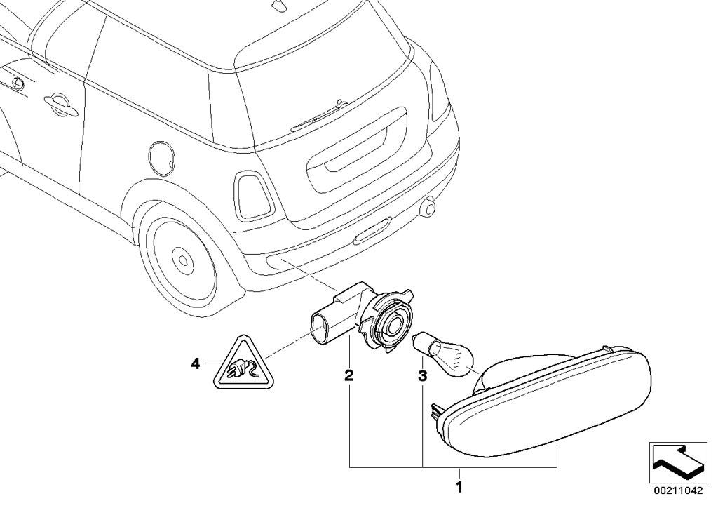 mini r56 lci  coupe  cooper  ece  lighting  installing set