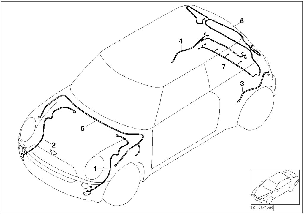 1977 vw beetle parts diagrams