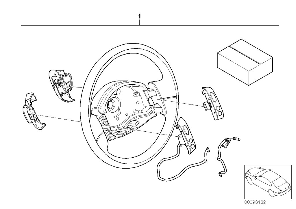 mini r53  coupe  cooper s  usa  steering  steering wheel airbag