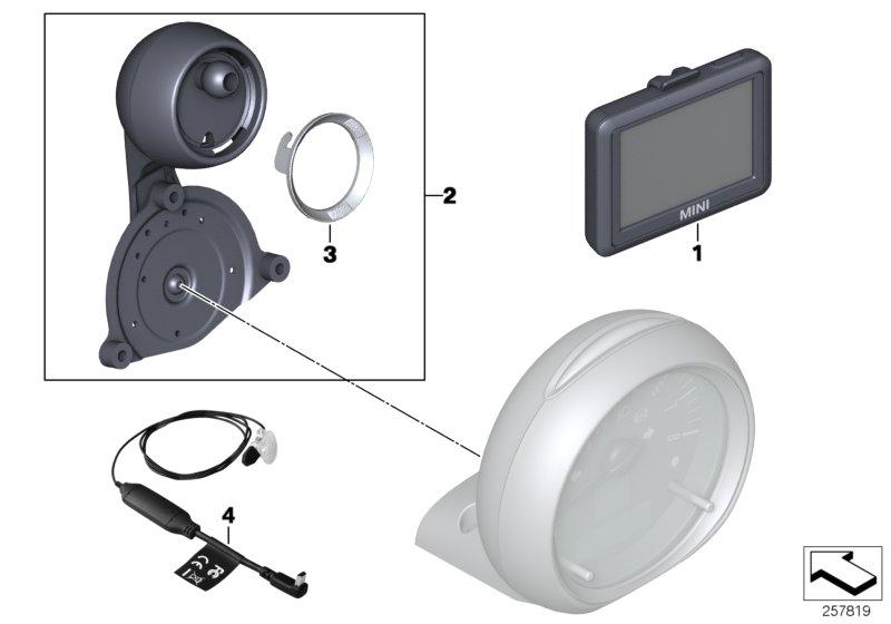 Mini R60  Countryman  One D  Ece  Audio  Navigation
