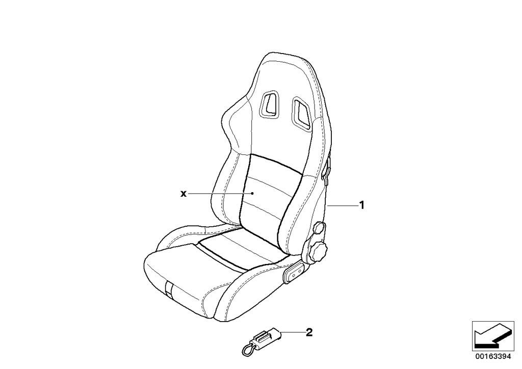 mini r53  coupe  cooper s  ece  seats  leather retrofit sports