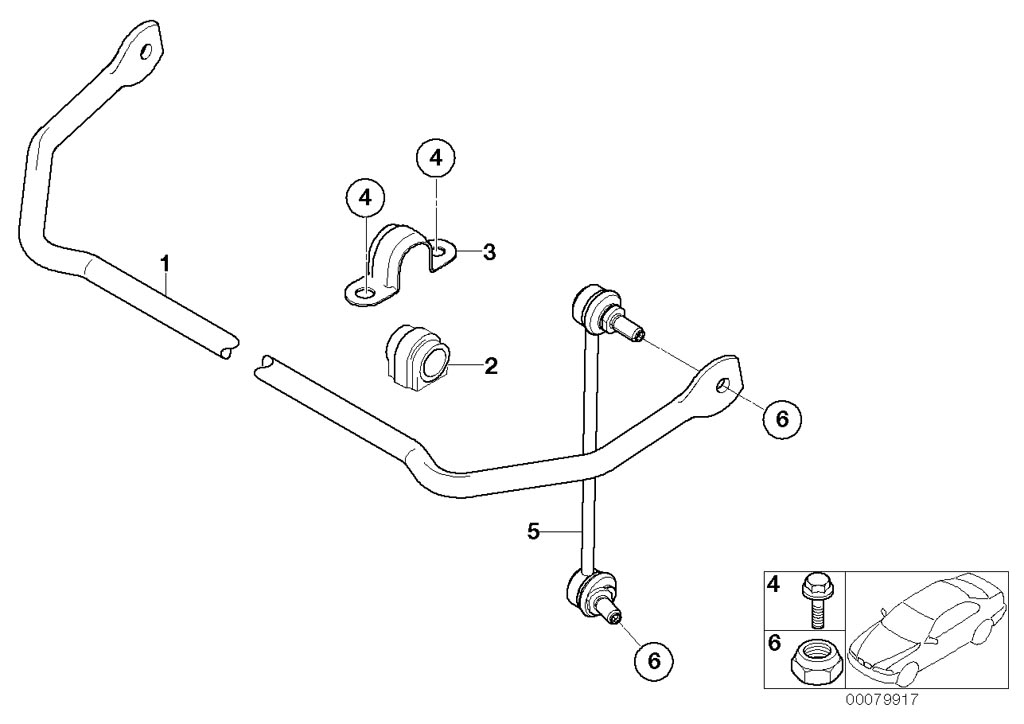 mini r53  coupe  cooper s  ece  rear axle  rr axle support