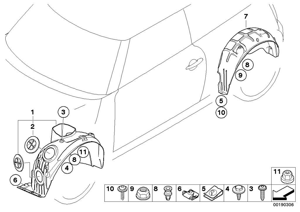 mini cooper front suspension diagram