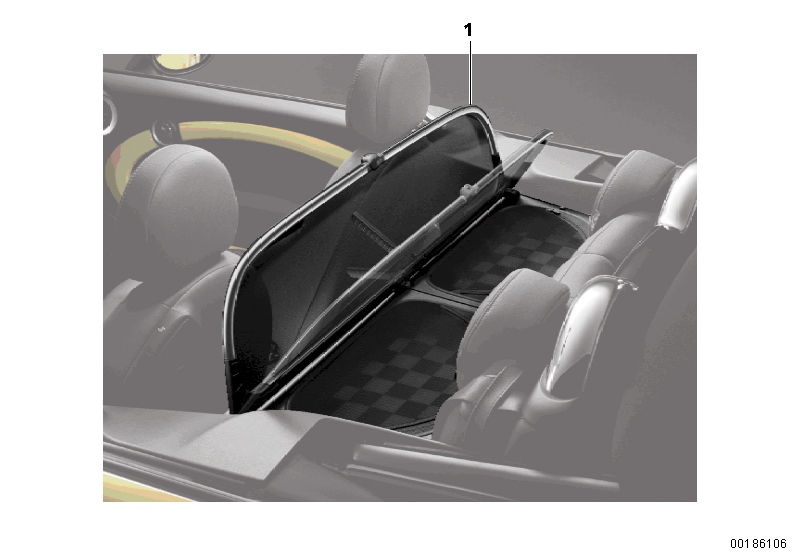 Mini R57  Convertible  Cooper  Usa  Sliding Roof Folding Top