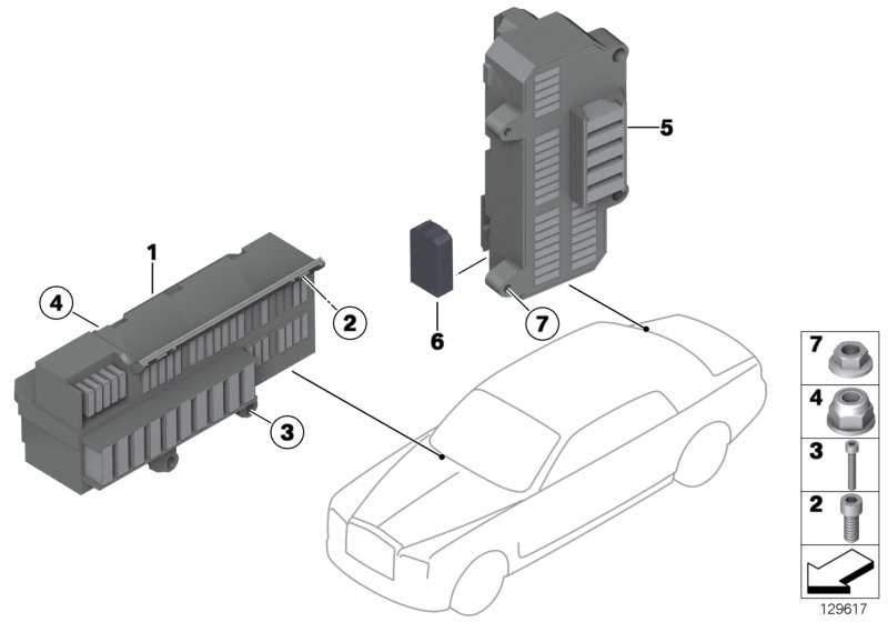 Phantom Drophead  Convertible  Drophead  Ece  Vehicle Electrical System  Genuine Rolls Royce Battery