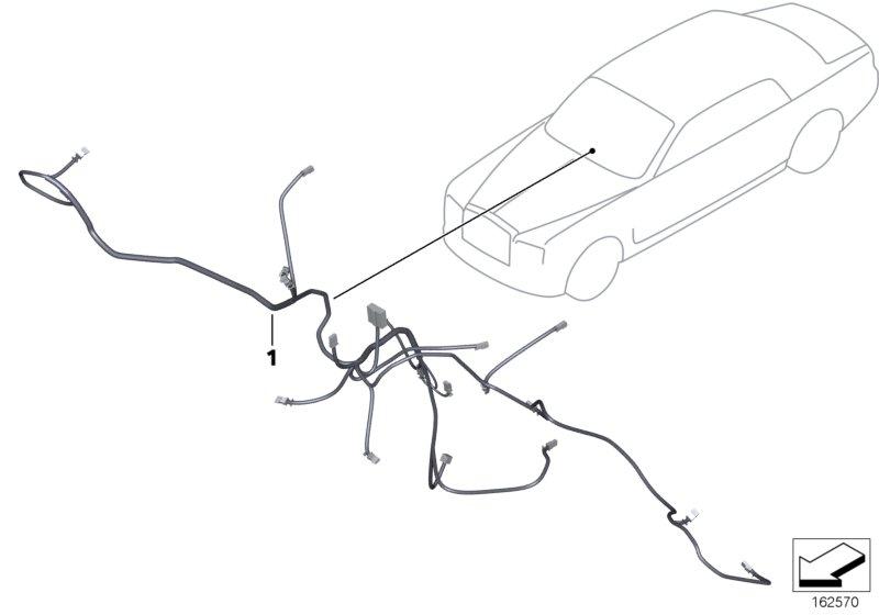 Phantom Drophead  Convertible  Drophead  Ece  Vehicle Electrical System  Genuine Rolls Royce Battery