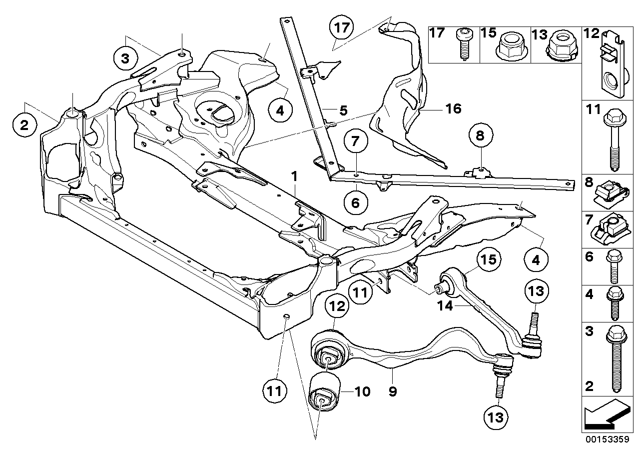 e46 radiator sensor with Frnt Axle Support Wishbone Tension Strut on 7z6aw 1996 Escort Radiator Cooling Fan Will Not Run 40   Fuse besides 02 BASICS Replacing Your Drive Belt mobile together with Showthread additionally Bmw Z4 Engine Cooling System Diagram as well 1997 Acura Tl Engine Diagram.