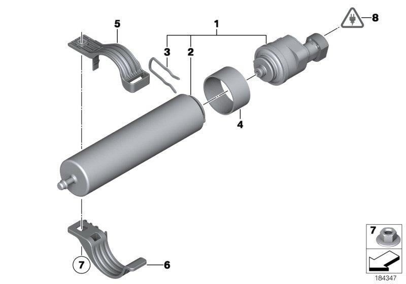 Bmw 5 F10 Saloon 520d Ind Fuel Preparation System