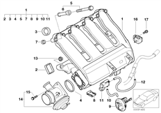 61131369447 together with Bmw M6 Turbo Engine Diagram together with N54 Wiring Diagram further Engine Head Gasket Additives together with Rear Heater Duct. on bmw m10 wiring diagram